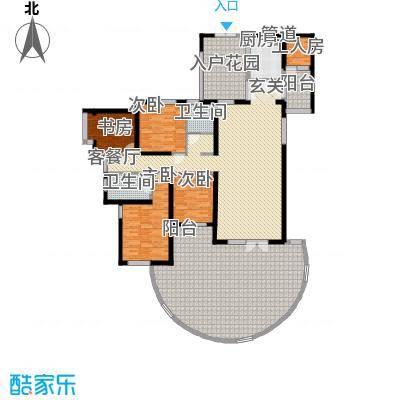 滨湖世纪城福徽苑17.00㎡福徽苑户型4室
