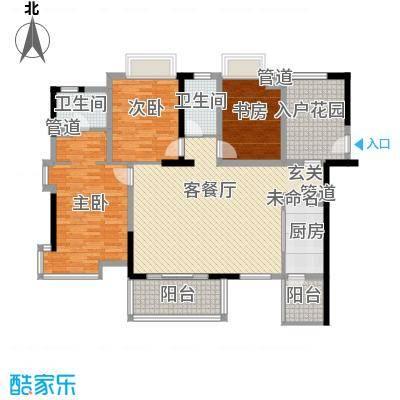 桑菊家园户型3室1厅1卫1厨