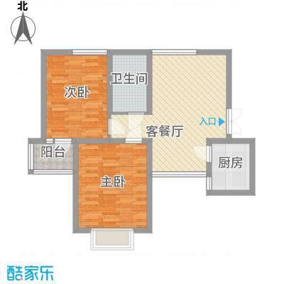 宁徐新村84.00㎡户型3室