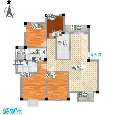 东裕新村户型4室2厅1卫1厨