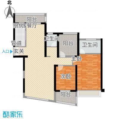 国贸宿舍2居户型2室2厅1卫1厨