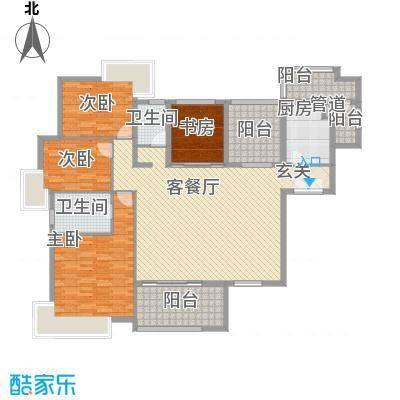 丽水佳园3.00㎡户型5室