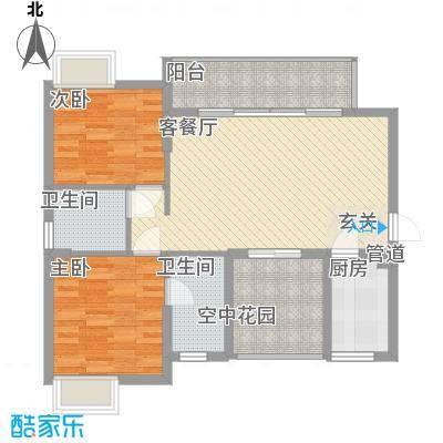 丽水佳园3.00㎡户型3室