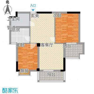 世纪银座15.00㎡户型2室