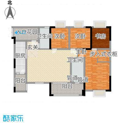 重庆佳程广场15.00㎡一期高层所有楼栋标准层A2户型3室2厅2卫1厨