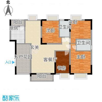 万和和府WHHF3户型3室2厅2卫