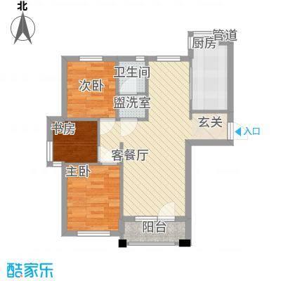 宁舟新村73.00㎡户型3室