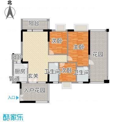 益利名门花园118.00㎡11户型3室2厅2卫