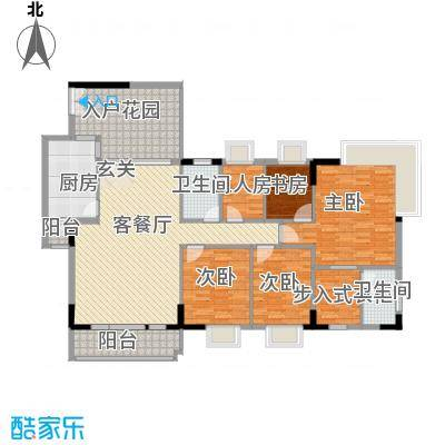 益利名门花园15.66㎡2户型3室2厅2卫