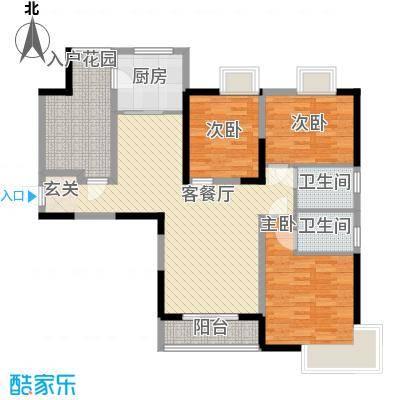 锦辉国际花园二期3-2-2-1-4户型
