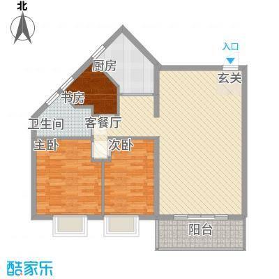 嘉盛海景户型3室