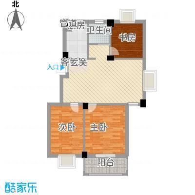 万景梅庭A[]户型3室2厅2卫1厨