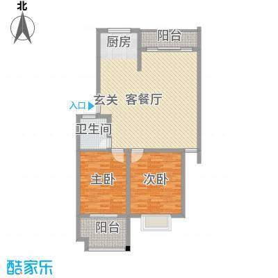富贵园4户型2室1厅1卫1厨