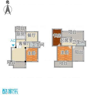 清水湾8.00㎡跃层H户型