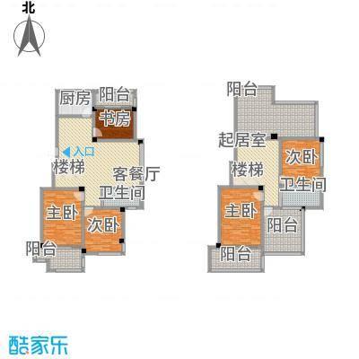 清水湾12.00㎡跃层E户型