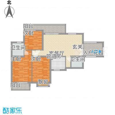 滨湖世纪城福徽苑1219312353520_000户型3室2厅2卫1厨