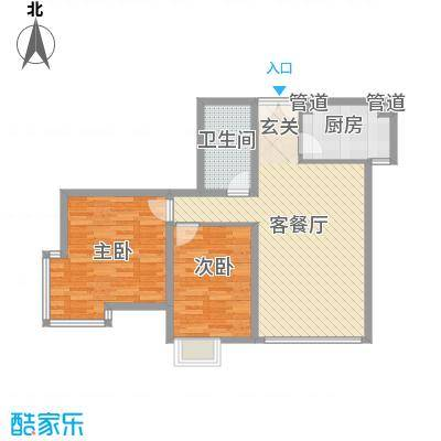 如意楼122.00㎡户型4室