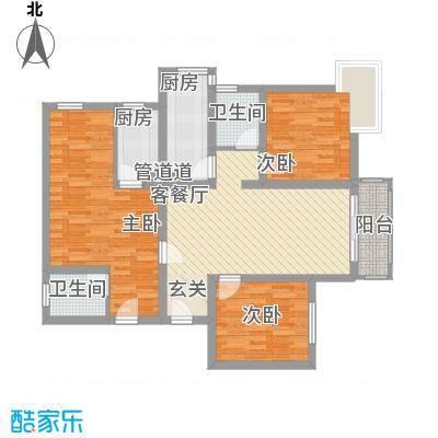 宁江公寓户型