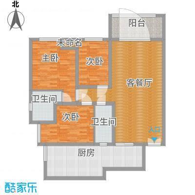 3号楼-三居室-建面117㎡