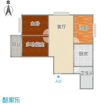 书香华庭120方三室两厅一厨一卫