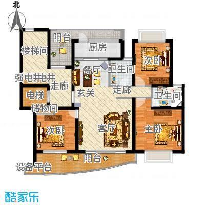 昆山-香榭水岸四期公寓-设计方案