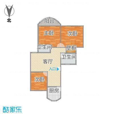 闸北-东方明珠大宁公寓-设计方案