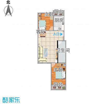 北京-风雅园三区-97平米-设计方案