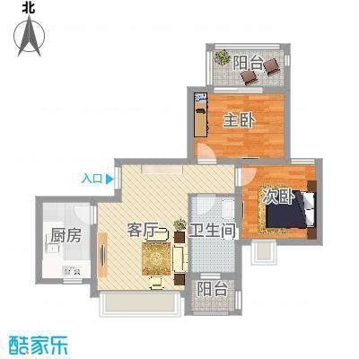 苏州-南环新村两房一厅-设计方案