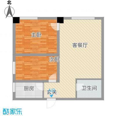 海棠铭居二期E-2户型