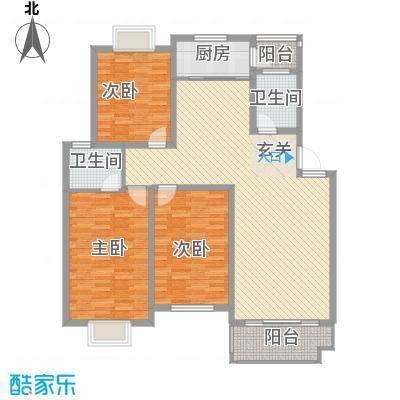 中江嘉荷苑[5)KB_6B6DOHHPY5]WRF207户型3室