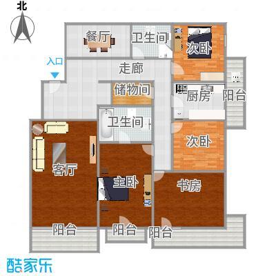 华馨公寓170平米三室二厅二卫