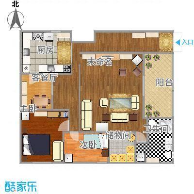 闵行-莲花公寓(闵行)-设计方案