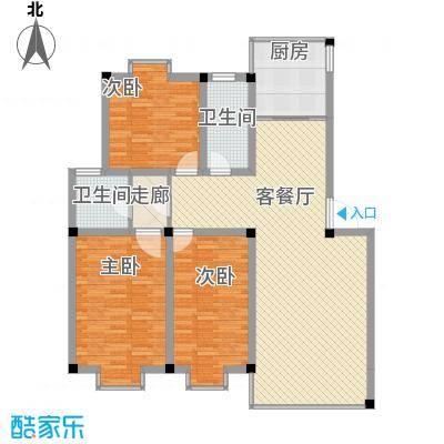金鑫花苑2008970517446764户型