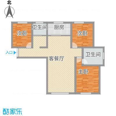 金鑫花苑41_mk7_c800X800户型