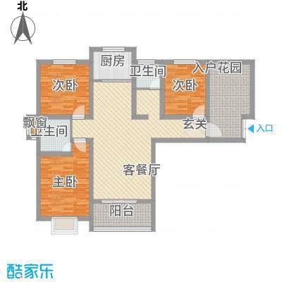 富雅锦园一期1号楼A户型