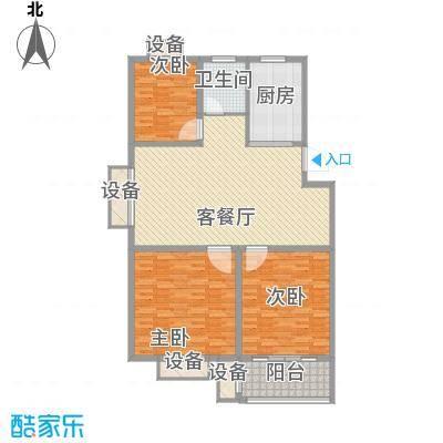双富嘉园四期137栋标准层G户型