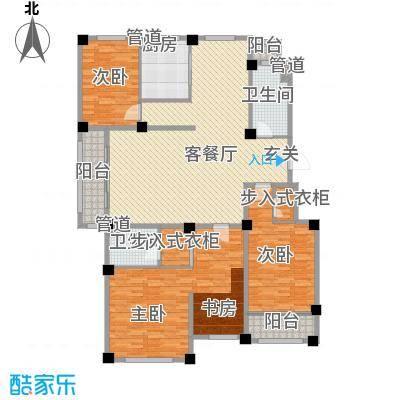成业家园户型5室2厅2卫1厨