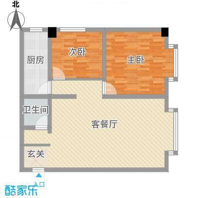 海棠铭居二期E-3户型