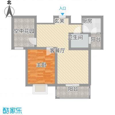 广海明珠佳苑B-02户型