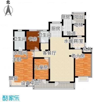 碧桂园银河城天墅J272(六至二十偶数层)户型