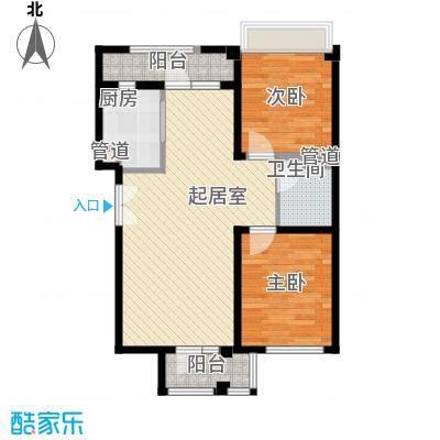 未来城1#楼C户型