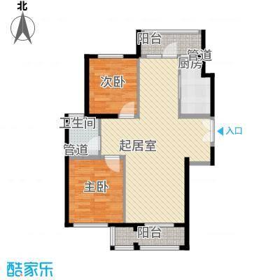 未来城1#楼D户型