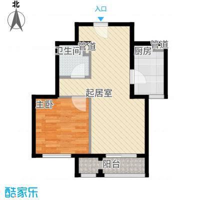 未来城1#楼B户型