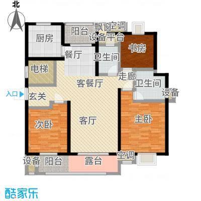 中新翠湖133.00㎡中新翠湖户型图A户型(1/2张)户型3室2厅2卫-副本