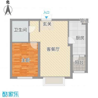 宏润翠湖天地38号楼G户型