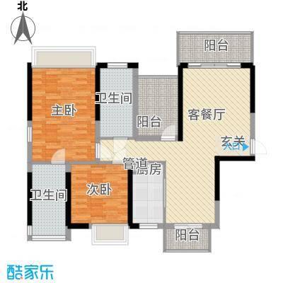 紫檀山6栋户型