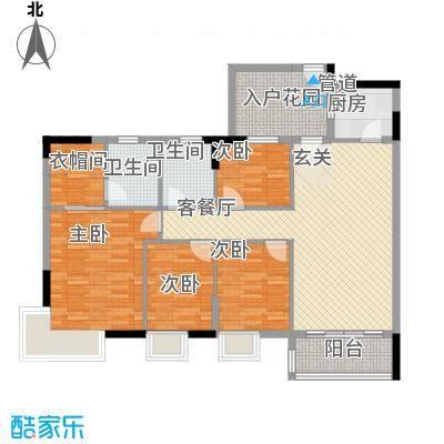 顺景蔷薇山庄四期113.72㎡第50栋3-16层0户型4室1厅2卫1厨