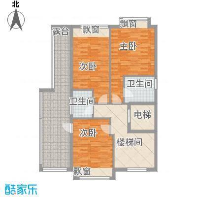 御湖名邸23.00㎡兰菁街2-24号二层户型4室2厅4卫1厨