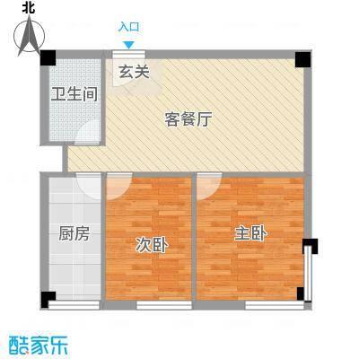 燕赵锦河湾公寓B1户型