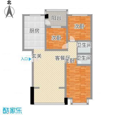 东区国际8号楼01户型